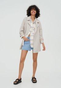 PULL&BEAR - Short coat - grey - 1