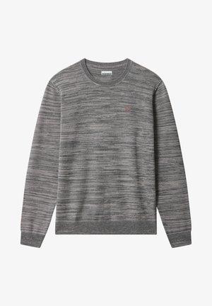 DUEVILLE CREW - Stickad tröja - dark grey melange