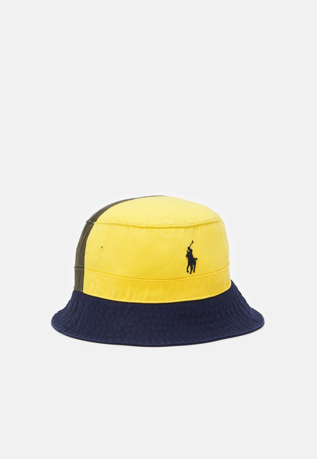 BUCKET HAT UNISEX - Chapeau - yellow/newport navy
