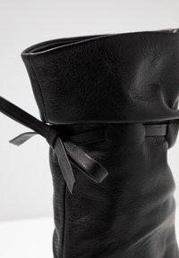 Day Time - KORA - Højhælede støvler - matrix nero - 2