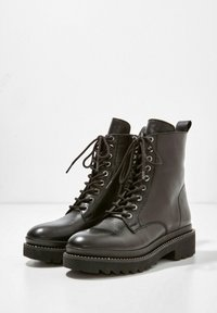 Inuovo - Lace-up ankle boots - black blk - 3