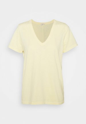 THE SLUB VEE - Basic T-shirt - yellow sunrise