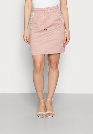 SKIRT - Mini skirt - vintage rose