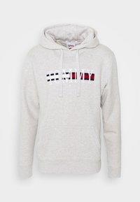 Tommy Jeans - TIMELESS HOODIE UNISEX - Sweatshirt - silver grey - 5