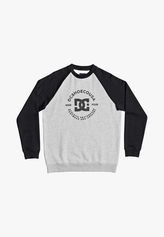Camiseta de manga larga - heather grey/black