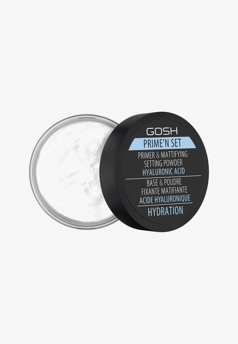 Gosh Copenhagen - PRIME'N SET POWDER - Puder - 003 hydration