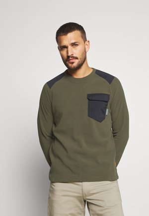 INNOMINATA LIGHT CREW NECK MEN - Bluza z polaru - iguana