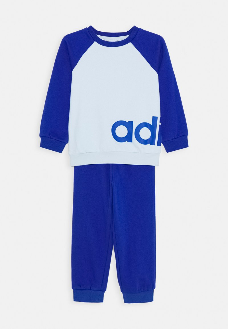 adidas Performance - ESSENTIALS SPORTS SET UNISEX - Tuta - sky tint/team royal blue