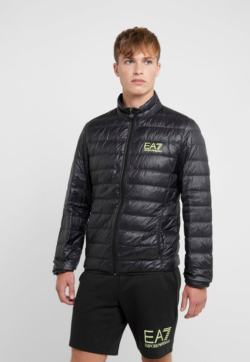 EA7 Emporio Armani - Down jacket - black / neon / yellow