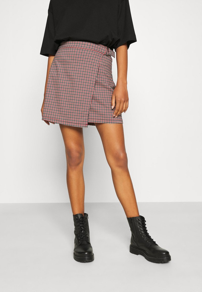 Hollister Co. - Wrap skirt - red