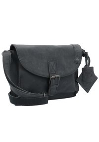 Greenburry - VINTAGE REVIVAL LEDER - Across body bag - black - 2