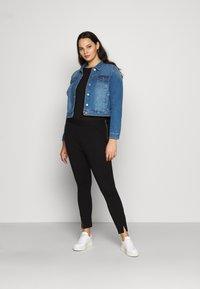 Vero Moda Curve - VMTAVA  - Leggings - Trousers - black - 1