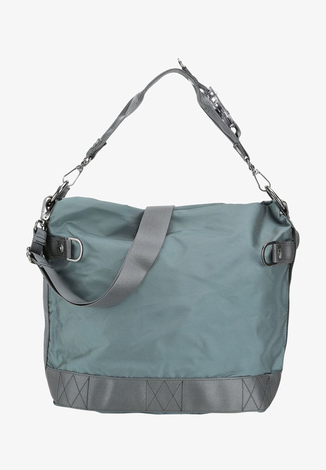 Handbag - petrol grey