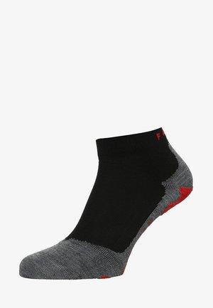 RU5 LIGTHWEIGHT SHORT  - Sports socks - black/grey
