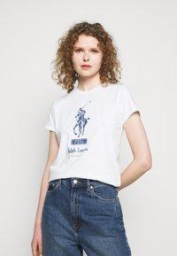 Polo Ralph Lauren - Triko spotiskem - white - 0