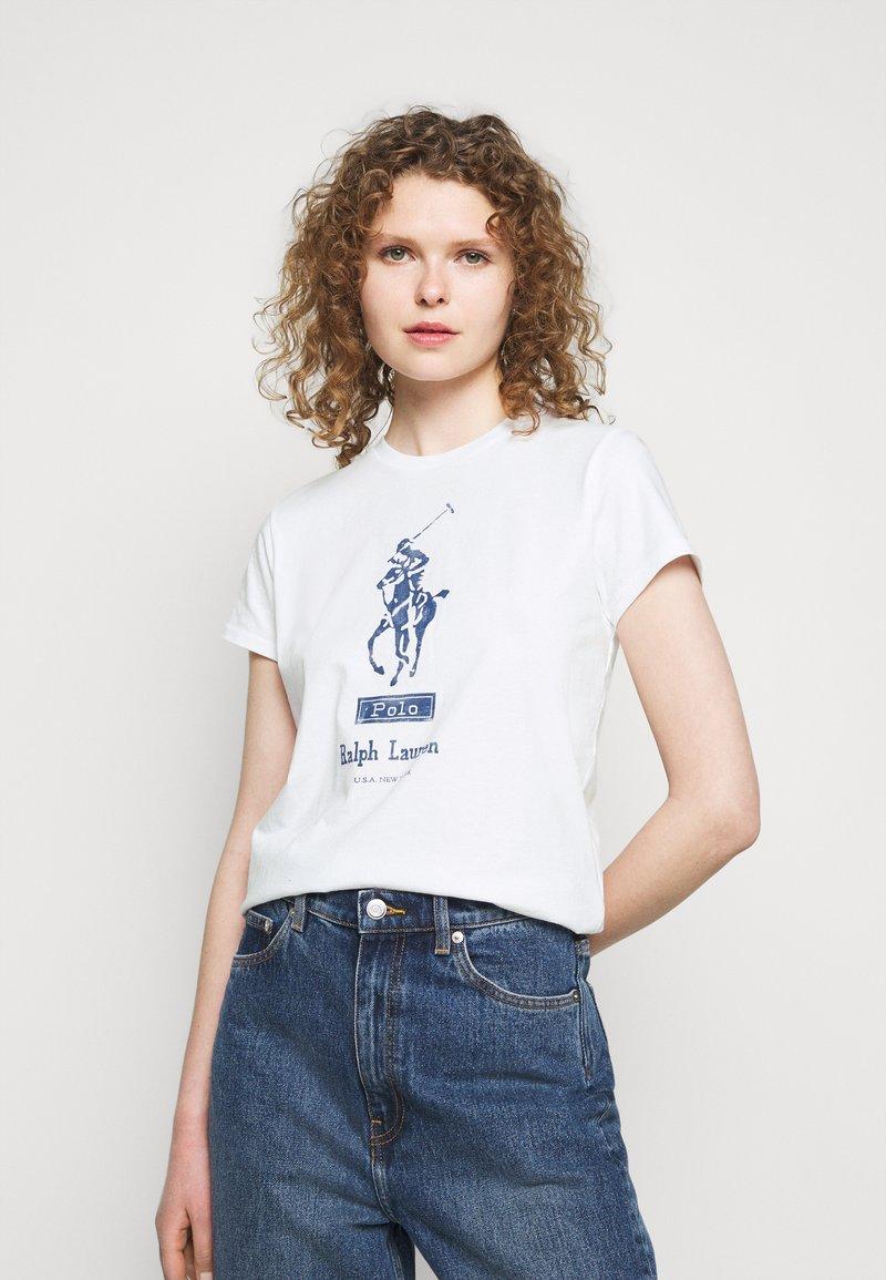 Polo Ralph Lauren - Triko spotiskem - white