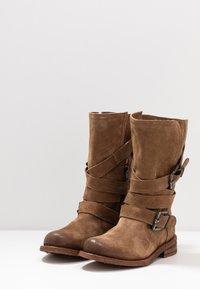 Felmini Wide Fit - GREDO - Cowboy/Biker boots - momma - 4