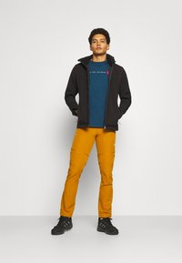 The North Face - NEVER STOP EXPLORING TEE - Print T-shirt - monterey blue - 1