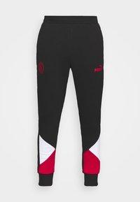 Puma - AC MAILAND FTBLCULTURE TRACK PANTS - Verryttelyhousut - black/tango red - 4