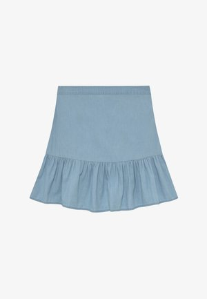 HARPER SKIRT - Mini skirt - chambray