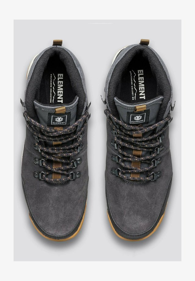ELEMENT WOLFEBORO DONNELLY LIGHT - Sneakers hoog - asphalt gum