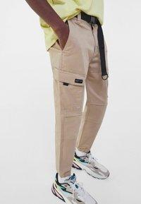 Bershka - Cargo trousers - camel - 3