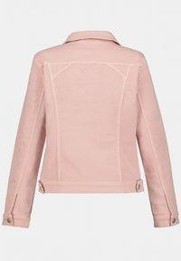 GINA LAURA - Denim jacket - puderrosa - 3