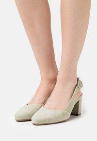 Peter Kaiser Wide Fit - WEDA - Classic heels - yucca - 0