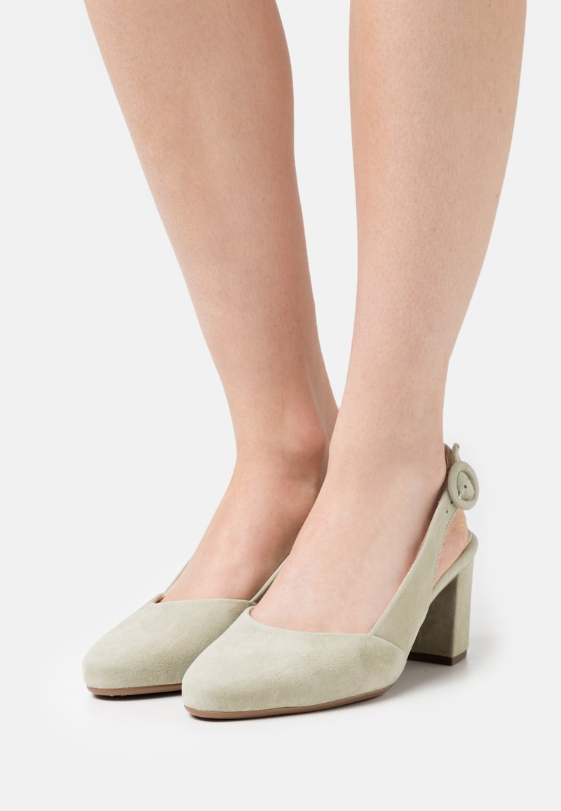 Peter Kaiser Wide Fit - WEDA - Classic heels - yucca