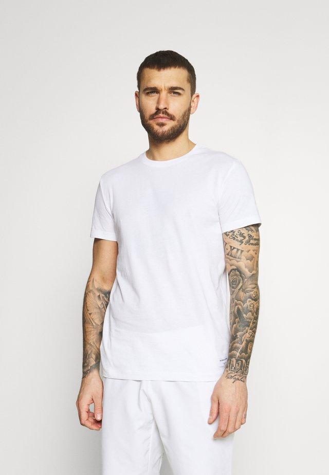 CENTRE - T-shirt basic - brilliant white