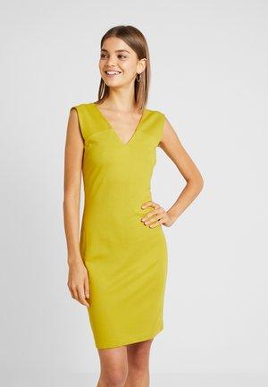 YASCANE SHORT DRESS  - Shift dress - chive