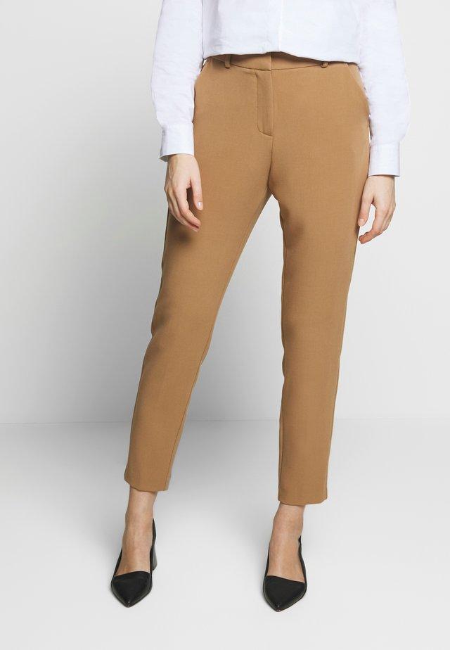KAYACR STRAIGHT PANTS - Spodnie materiałowe - luxury camel