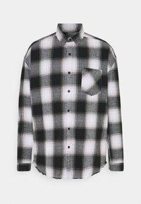 Mennace - APPLIQUE CHECK - Camicia - white - 4