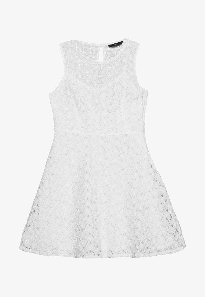 Vero Moda Petite - VMALLIE SHORT DRESS - Vestido informal - snow white