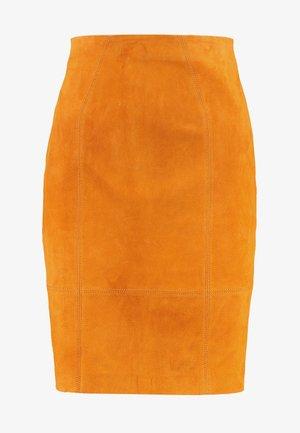 Minifalda - golden oak