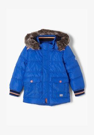 MIT FAKE FUR-BLENDE - Winter jacket - blue