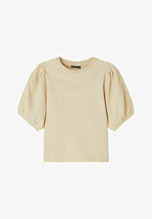 T-shirt basic - creme brûlée
