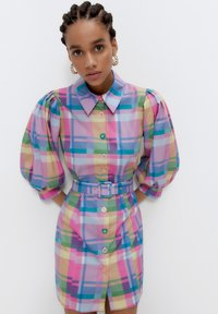 Uterqüe - Shirt dress - pink - 3
