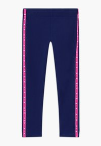 Nike Sportswear - AIR FAVORITES - Leggings - Trousers - blue void/fire pink/(fire pink) - 0