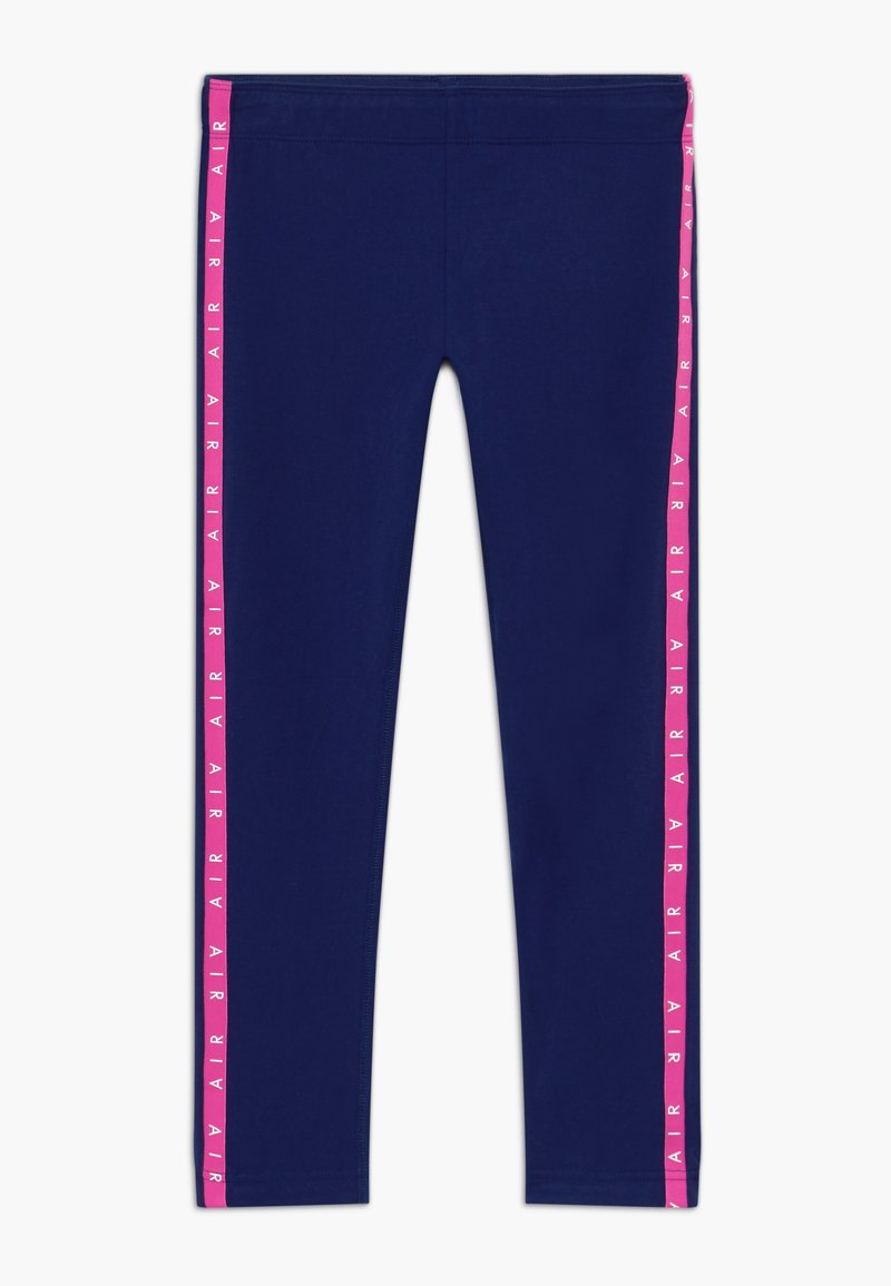 Nike Sportswear - AIR FAVORITES - Leggings - Trousers - blue void/fire pink/(fire pink)