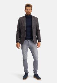State of Art - Blazer jacket - midnight/brick - 2