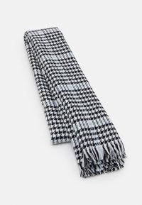 ONLY - ONLSIA SCARF  - Scarf - blue fog/black/white - 0
