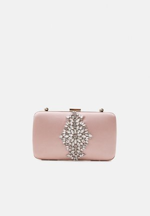 SAMANTHA EMBELLISHED BOX - Clutches - champagne