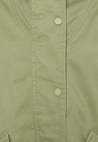 Marc O'Polo - CAPE FIX HOOD - Short coat - dried sage - 2