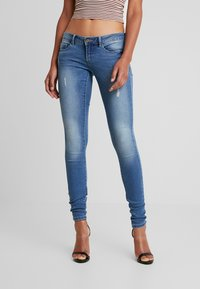 ONLY - ONLCORAL  - Skinny-Farkut - medium blue denim - 0