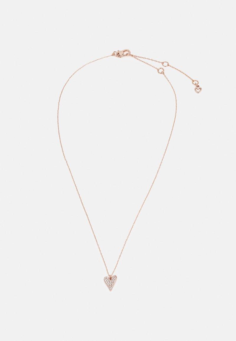 kate spade new york - MINI PENDANT - Necklace - rose gold-coloured