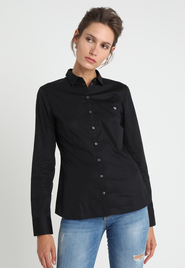 BLOUSE CLASSIC STYLE - Koszula - black