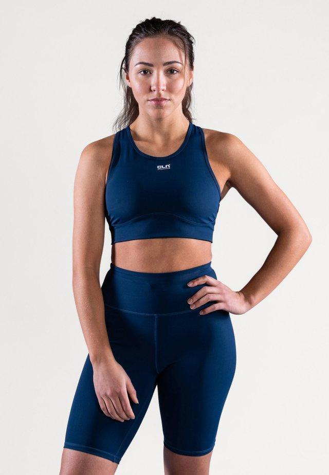 INTENSE - Brassières de sport à maintien normal - titan blue