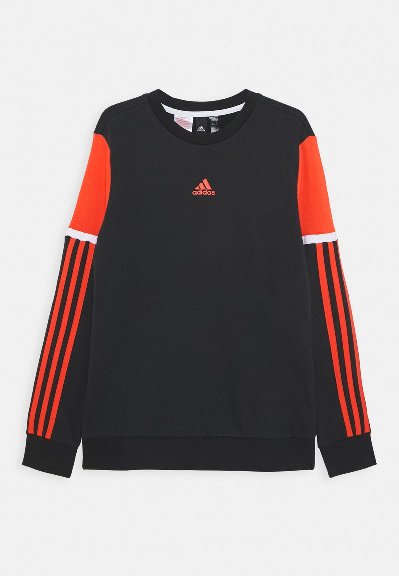 adidas Performance - BOLD CREW UNISEX - Sweatshirt - black/red