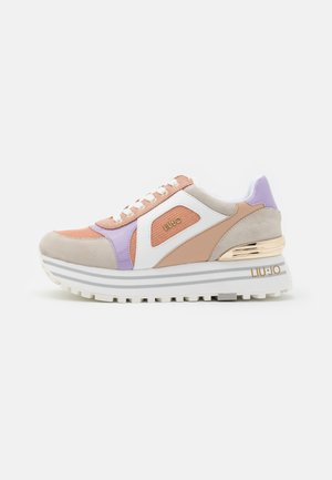 MAXI - Sneakers basse - nude/violet